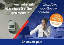 Publicité d'AXA pour son assurance auto