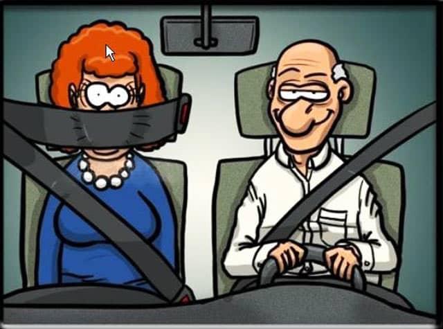 Certains ont trouvé tout seul la solution pour assurer leur sécurité...sans assurance auto