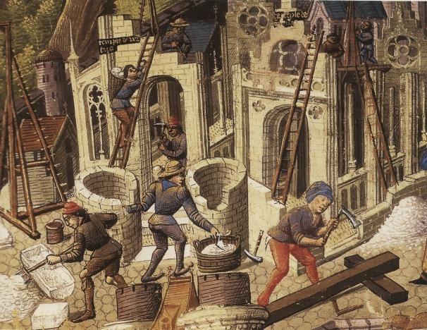 Les maçons au Moyen-Age : un corps de métier à l'origine de notre mutualité