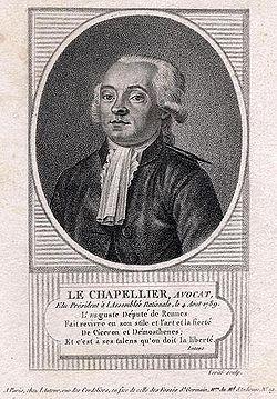 Contre la mutualité : Isaac Guy le Chapelier ...