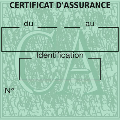 assurance auto en ligne - carte verte