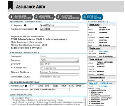 Assu 2000, devis assurance auto