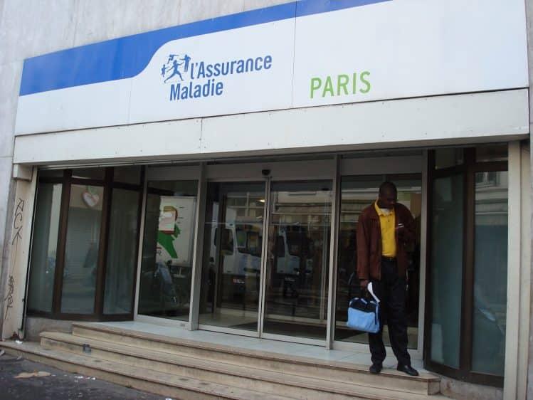 Locaux de l'Assurance Maladie Paris