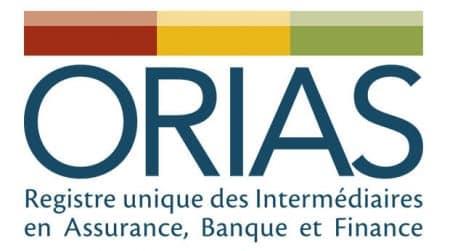 Logo de l'ORIAS, présent dans le code des assurances