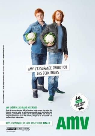 Publicité AMV, Assurance Moto Verte