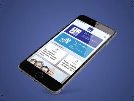 Une application mobile pour se tenir au courant avec AXA retraite