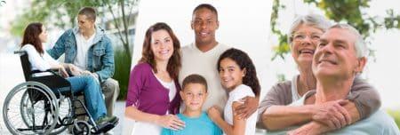 Protection de la famille par la Mutuelle Bleue