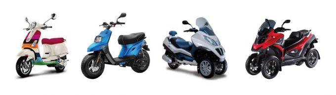 Quelle assurance scooter pour chacun de ces modèles ?