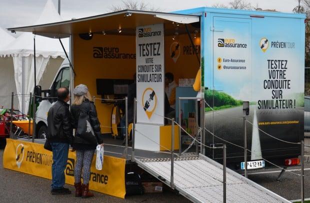 Le camion prévention Preventruck d'Euro assurance