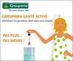 Publicité pour l'assurance santé de Groupama