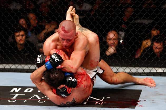 Vous l'aurez compris, MMA (Mixed Martial Arts, pour les novices), ce n'est pas seulement ça....