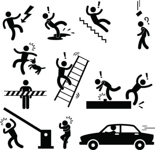 La sécurité sociale vous couvre en cas d'accidents du travail !